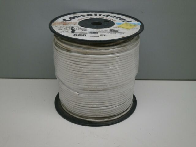 500ft Consolidated 892-9 Hookup Electronic Wire UL 1015 12-gauge ...