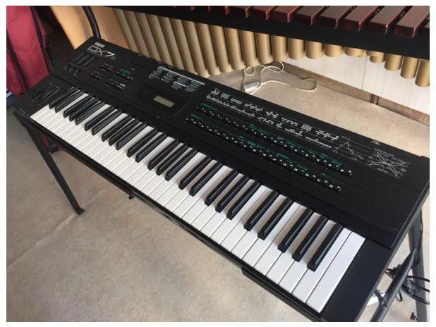 Yamaha dx7s synthesizer keyboard with tracking number ebay for Yamaha keyboard synthesizer