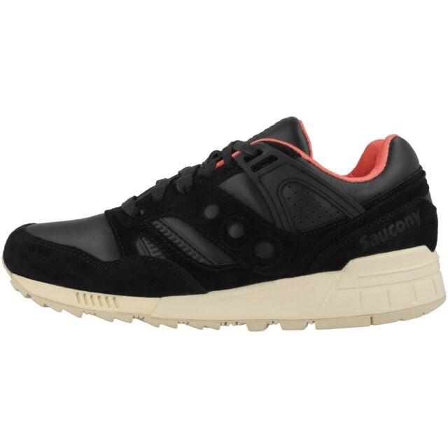 NUOVO SAUCONY GRID SD Scarpe Sneaker Donna Scarpe Da Ginnastica Scarpa Sport Nero s702633