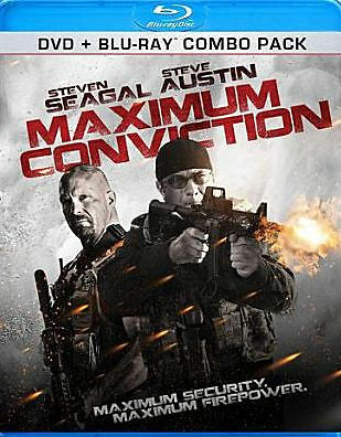 MAXIMUM CONVICTION - BLU RAY - Region A - Sealed