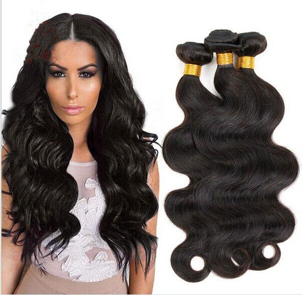 3 Bundle 20 Body Wave Brazilian 100 Remy Virgin Human Hair