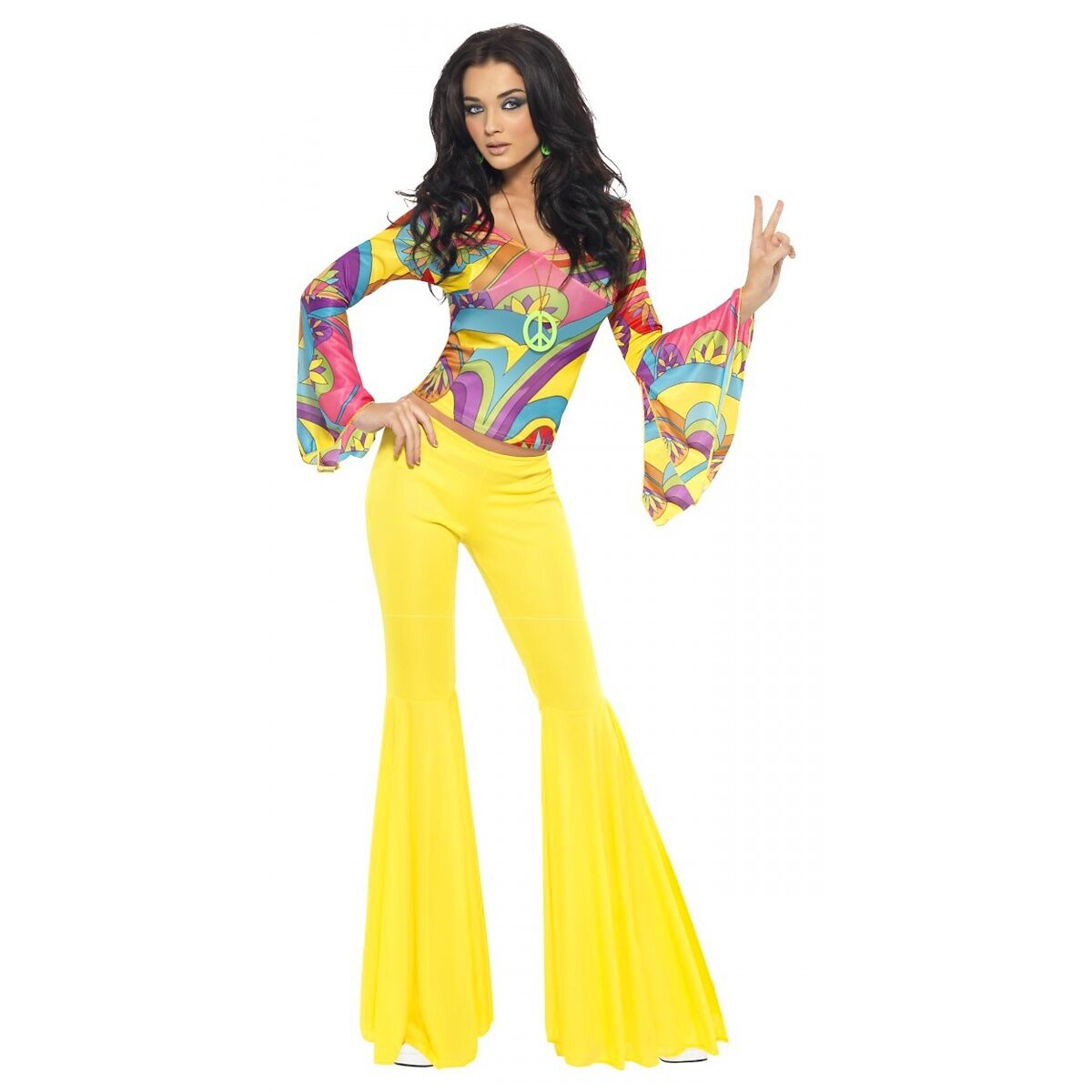 Fever 70s Groovy Babe Costume Small Ebay Picture 1 5