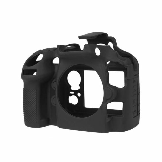 EasyCover Silicone Armor Skin Case Camera Cover Protector for Nikon D810 - Black