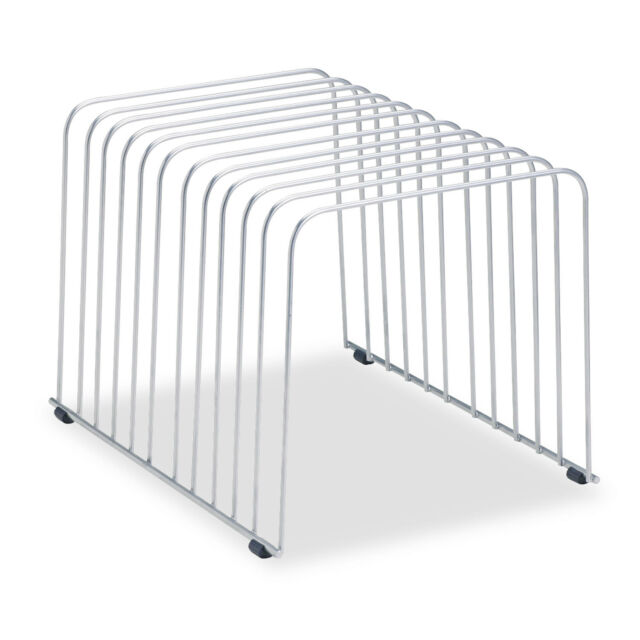 Fellowes Desktop Organizer 11 Sections 9 Inch X 11.375 8 Wire Silver ...
