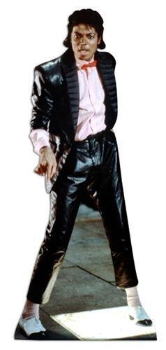 Michael Jackson 178cm Lifesize Cardboard Cutout
