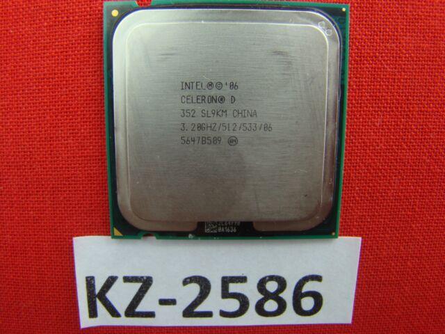 Angebot der Woche Intel Celeron D CPU  352 SL96P,SL9KM 3.20GHZ/512/533/ #KZ-2586