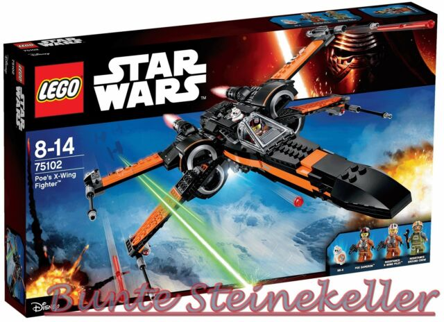LEGO® Star Wars™: 75102 Poe's X-Wing Fighter™  & 0.-€ Versand & OVP & NEU !
