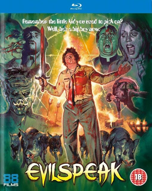 BLU RAY EVILSPEAK     ( STUDIO 88 FILMS )  NEW SEALED UK STOCK