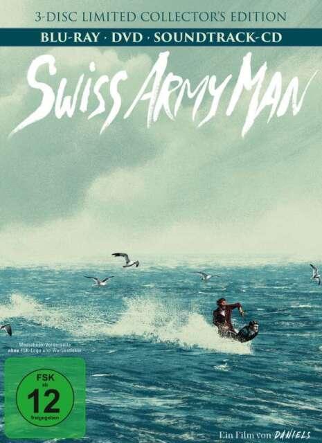 Swiss Army Man - Daniel Radciliffe - 3 Disc Blu Ray & DVD Mediabook