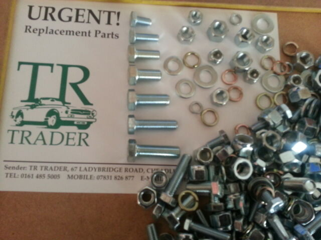 TRIUMPH TOLEDO, DOLOMITE SPRINT PACK UNF NUTS & BOLTS SCREWS WASHERS 400 APPRX