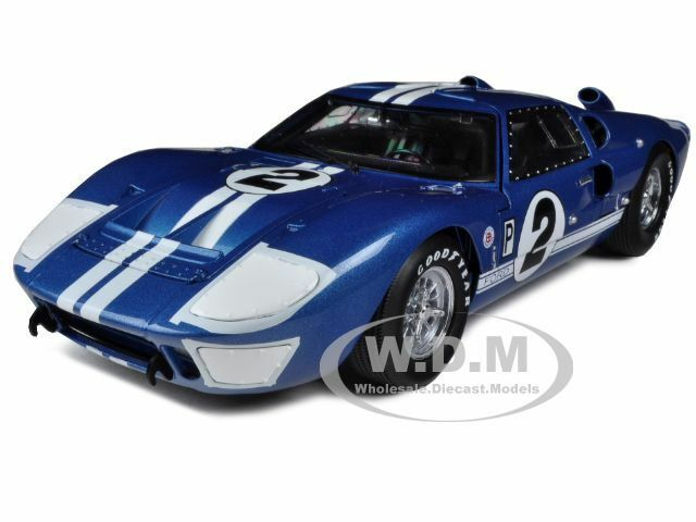 Ford Gt Mark Ii  Hours Of Sebring  Cast Car Model By Shelby Collectibles Ebay