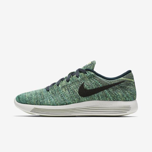 Men's Nike Lunarepic Low Flyknit Sz 10-13 Seaweed/Black 843764-300 FREE