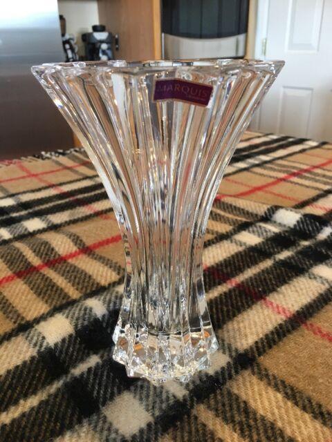 Marquis By Waterford 7 Elliston Crystal Vase Ebay