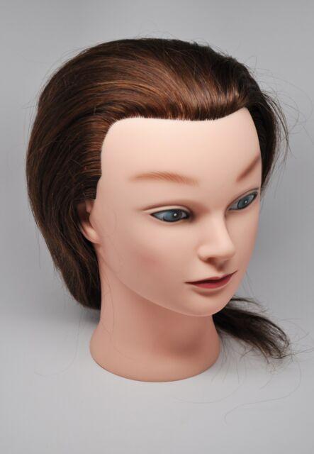 Ms Lori Kin Mannequin Head 100 Human Hair Brand New Never Cut Free Shipping