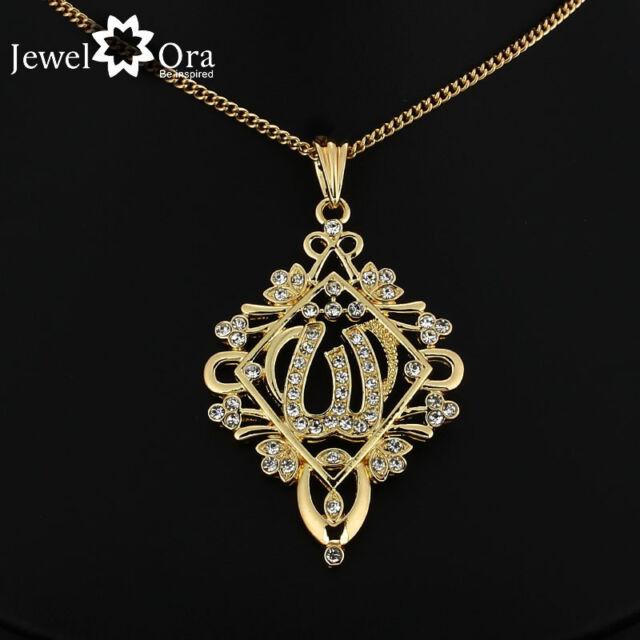 Fashion 24kgp golden pendants necklaces with gold chain exquisite fashion 24kgp golden pendants necklaces with gold chain exquisite allah pendant mozeypictures Choice Image