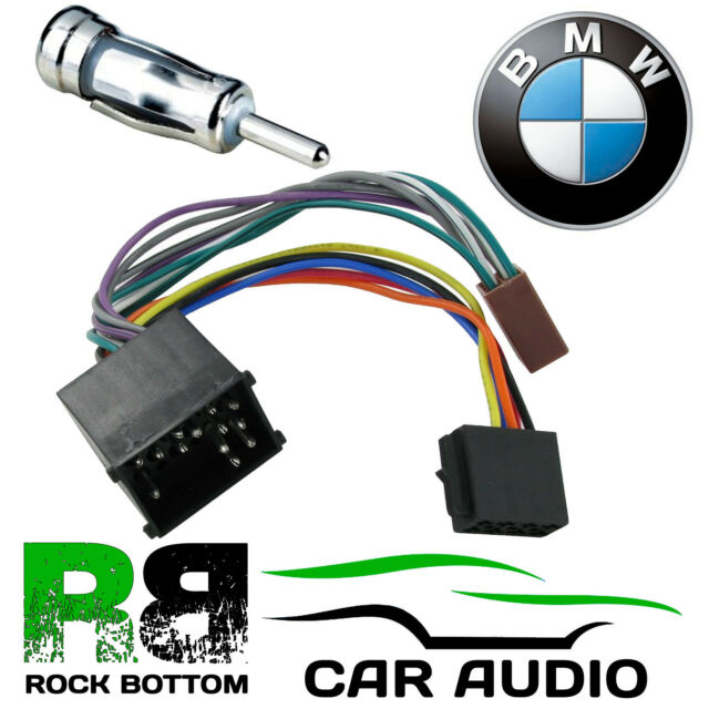 s l640 bmw 3 series e46 cd radio stereo wiring harness adapter lead loom bmw e46 aftermarket radio wiring harness at crackthecode.co