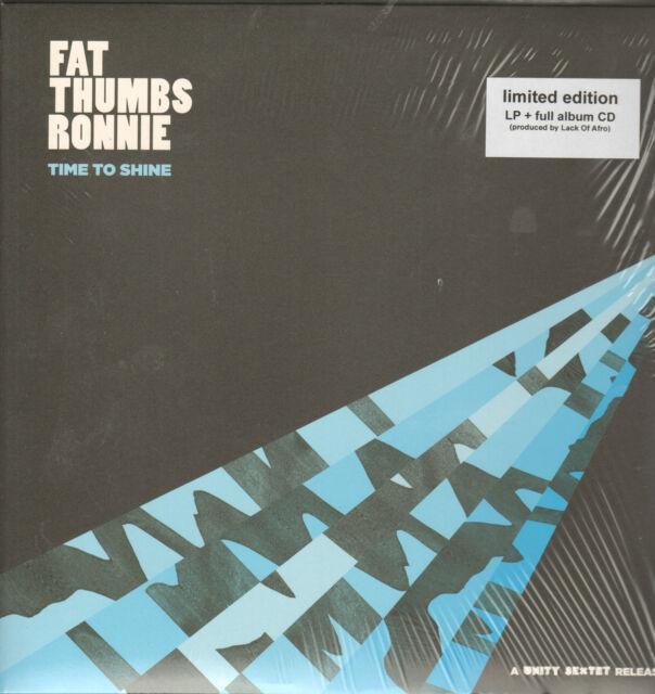 FAT THUMBS RONNIE - Time To Shine  LP + CD  !!! NEU !!!
