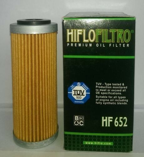 Husqvarna FE250 (2014 to 2017) Hiflofiltro Ölfilter (HF652)