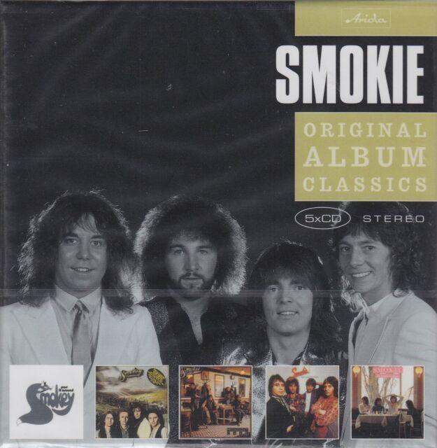 Smokie / Pass it Around, Midnight Cafe, The Montreux Album u.a. (5 CDs, OVP)