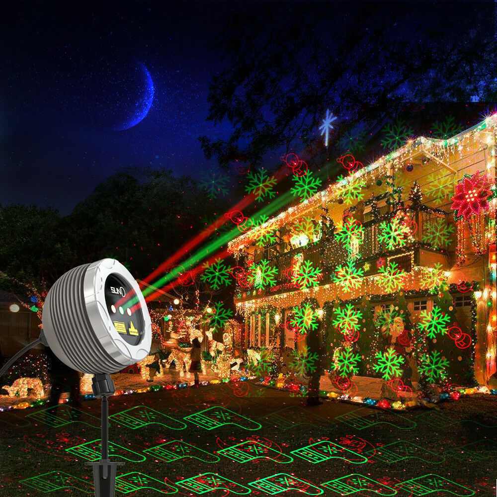 Suny 3 lens red green laser light outdoor garden remote xmas holiday picture 1 of 8 aloadofball Choice Image