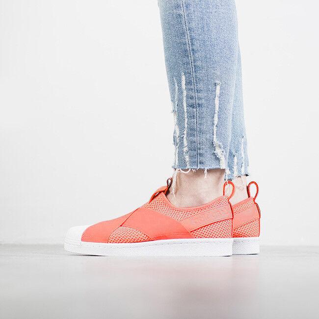 adidas slip on rosse