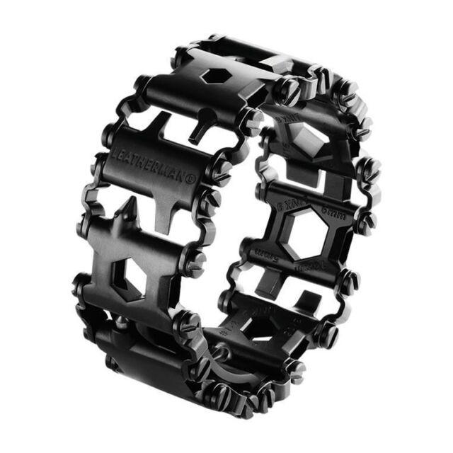 Leatherman Tread Edelstahl schwarz das Multitool für den Arm Neu & OVP