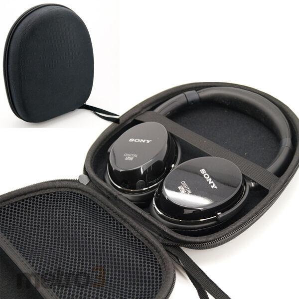 Headphone Case Bag Pouch for Sony NC7 NC8 V55 + Bose Sennheiser etc Earphones