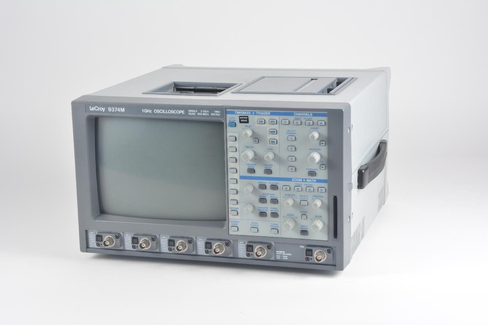 lecroy 9374m digital storage oscilloscope 1ghz ebay rh ebay com eBay Auction Buy It Now eBay Auction Buy It Now