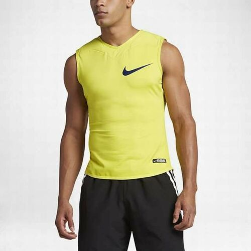 ab18c2f3a3638 Nike Size XXL 2XL Nike Vapor Speed Lite Mens Football Tank Top Yellow  833527-358