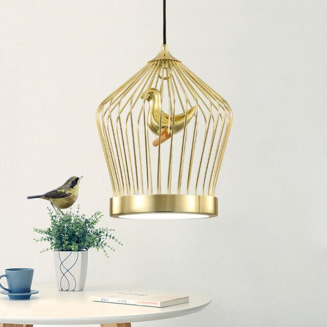 Modern gold birdcage pendant lamp restaurant bar ceiling chandelier modern gold birdcage pendant lamp restaurant bar ceiling chandelier lighting 536 aloadofball Image collections