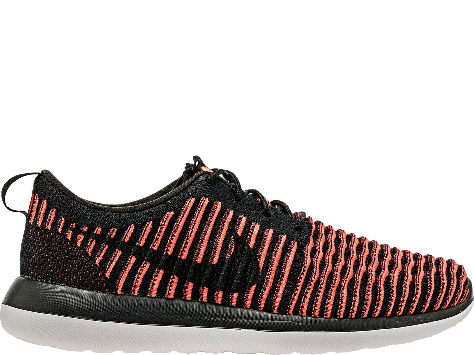 Nike Roshe Two Flyknit Rosherun 2 Preto Homens vermelho Homens Preto Running Shoe a77922