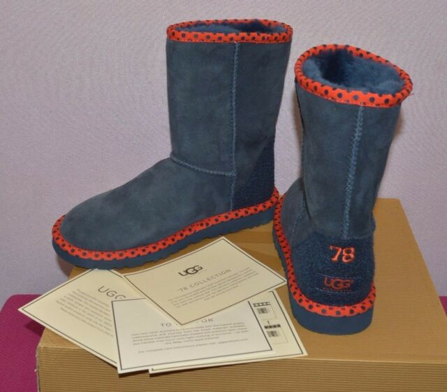 ugg classic short boots blue