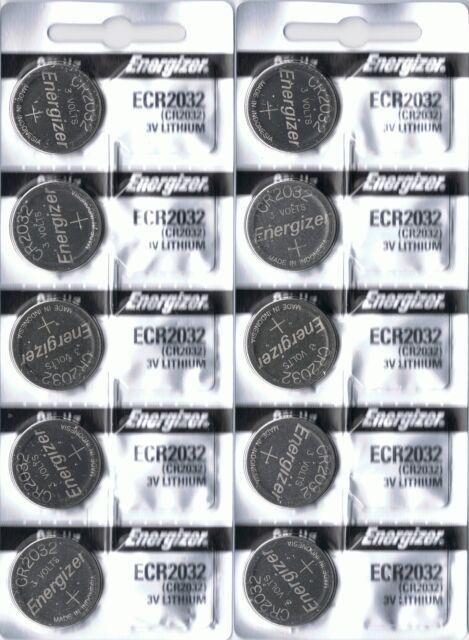 10 ENERGIZER CR2032 CR 2032 Lithium 3v Coin Battery Australia Stock Fast Post