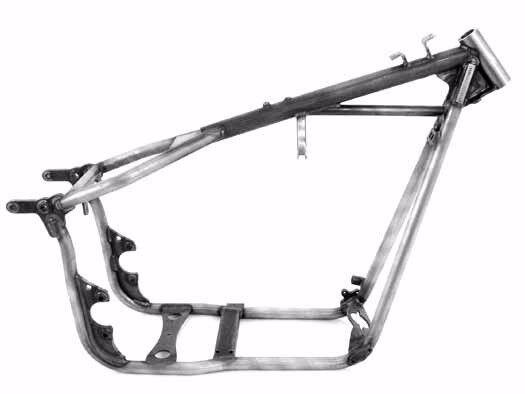 new kraft tech fxr swingarm frame harley stock bobber