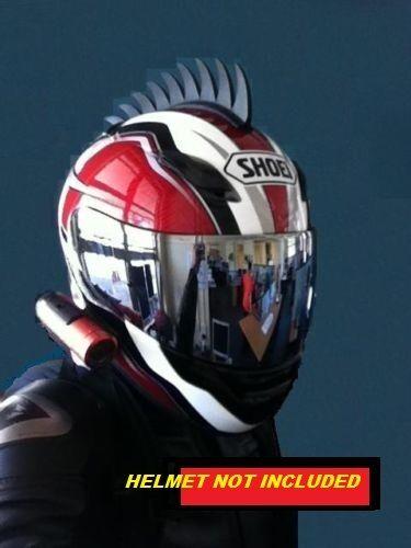 rubber motorcycle helmet mohawk warhawk helmets dirt bike sawblade dragon tooth