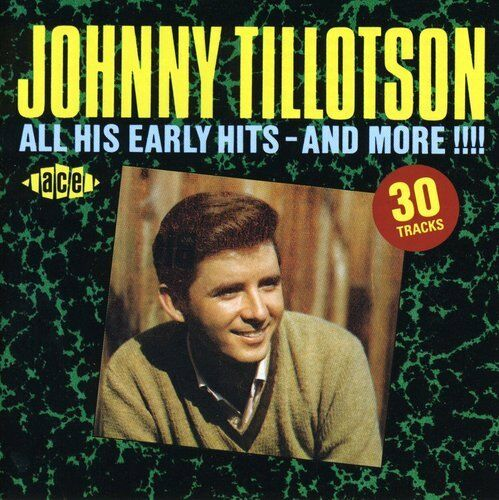 Johnny Tillotson - All His Early Hits & More [New CD] UK - Import