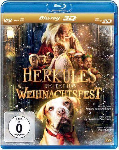 Herkules rettet das Weihnachtsfest 3D Blu-ray/NEU/OVP inkl. 2D Version