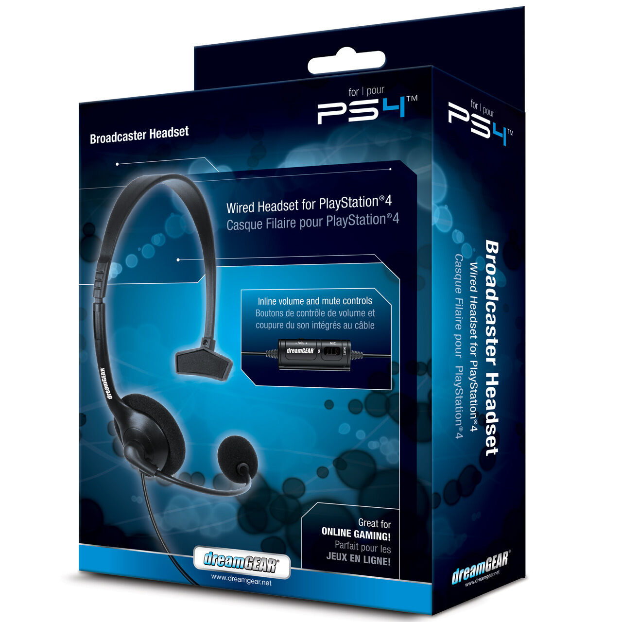 dreamGEAR PlayStation 4 Broadcaster Wired Gaming Headset for Ps4 | eBay