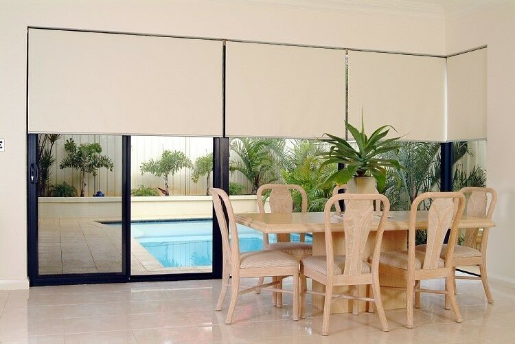 DIY Motorized Electric Remote Control Roller Shade Kit for up to