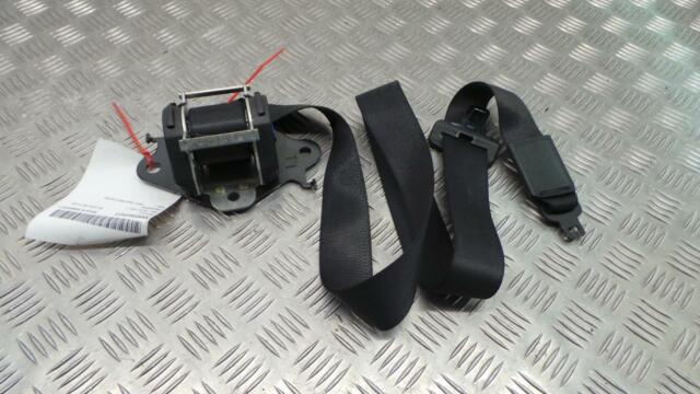Vauxhall Meriva Mk1 2002 - 2010 Seat Belt Rear Centre Seat Belt In Black