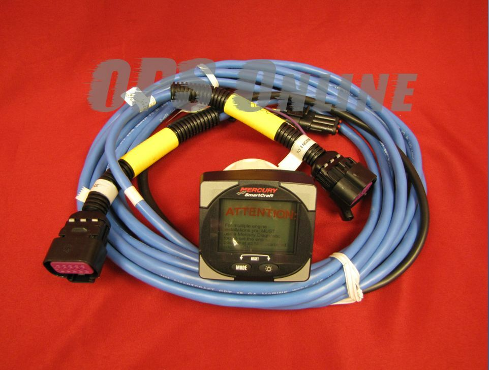 s l1600 mercury smartcraft system monitor w harness & manual 90 10229021 Auto Wiring Color Code 1950 Mercury at alyssarenee.co