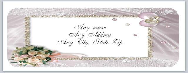 30 Personalized Return Address Labels Wedding Buy 3 Get 1 (c 739) | eBay