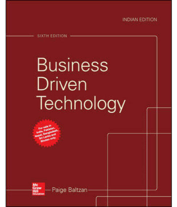 businbess driven technology Business driven technology - kindle edition by paige baltzan download it once and read it on your kindle device, pc, phones or tablets use features like bookmarks.