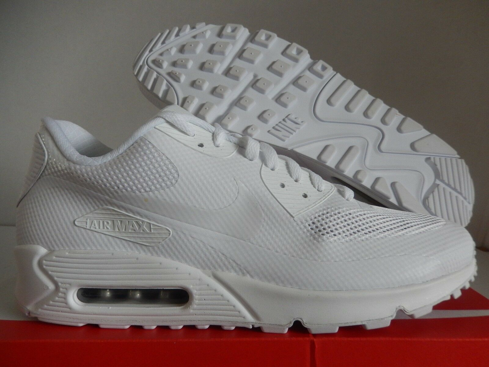 5178cedece ... purchase nike air max 90 hyp hyperfuse premium id all white sz 13  653603 991 191e2