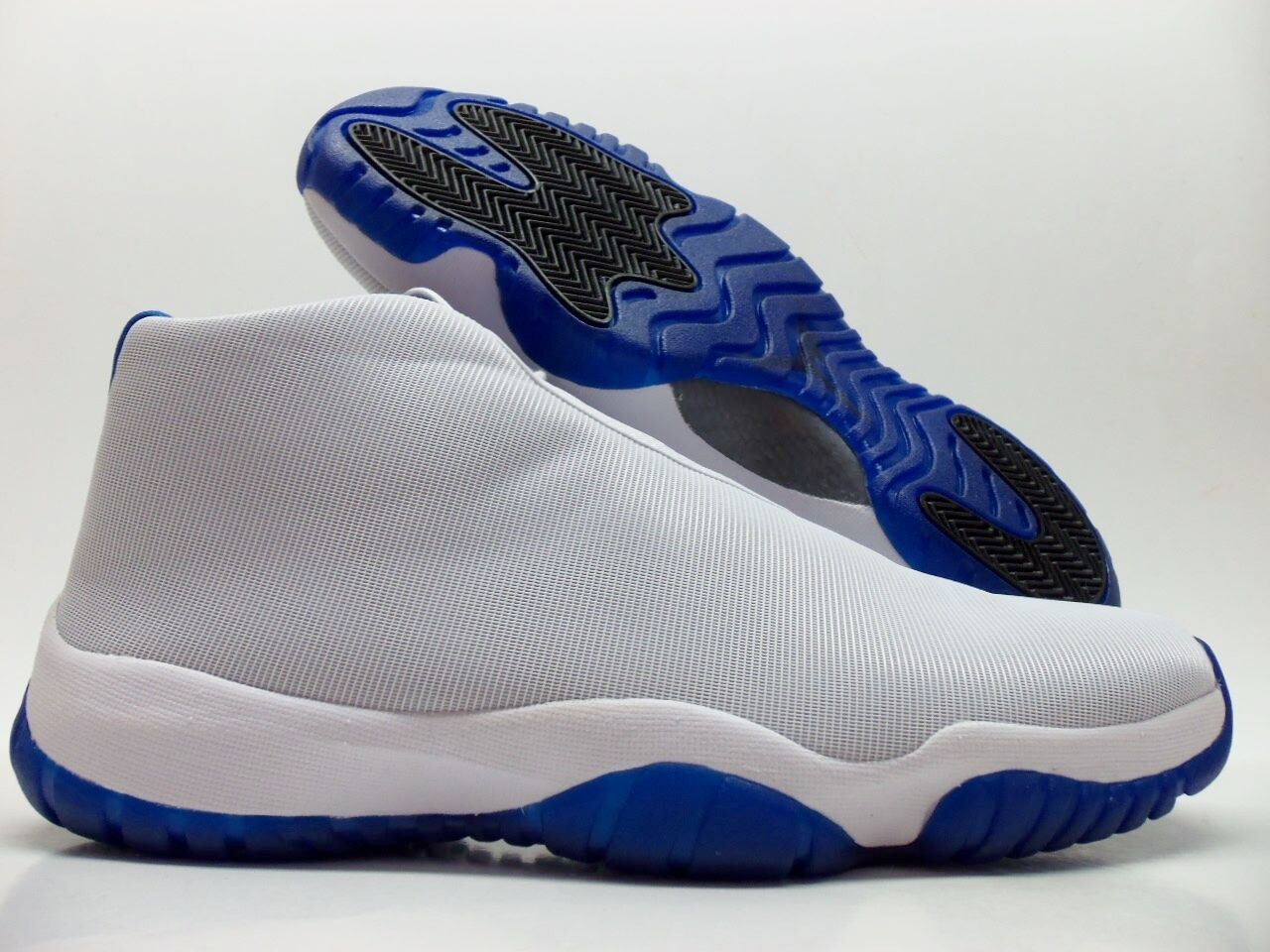 sale retailer cea3f 0bc7f ... norway nike air jordan future basketball white sport blue size mens 13  9d9ad 99587