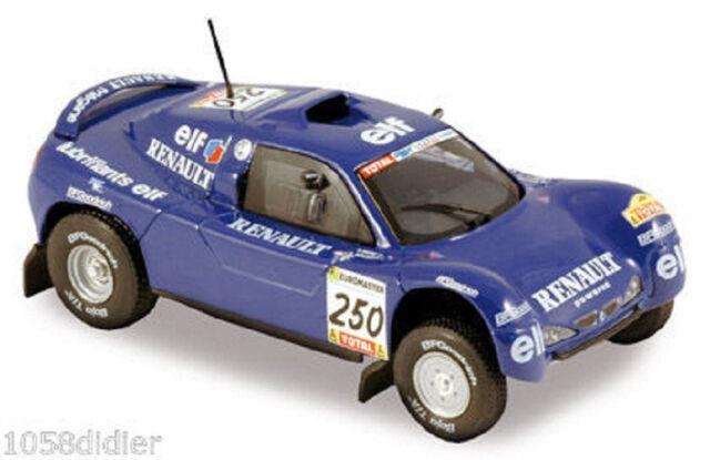 NOREV Renault Voiture Miniature MEGANE SCHLESSER Paris DAKAR 2000 1/43 neuf