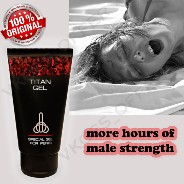 titan gel special intimate lubricant gel for men 2 pcs ebay