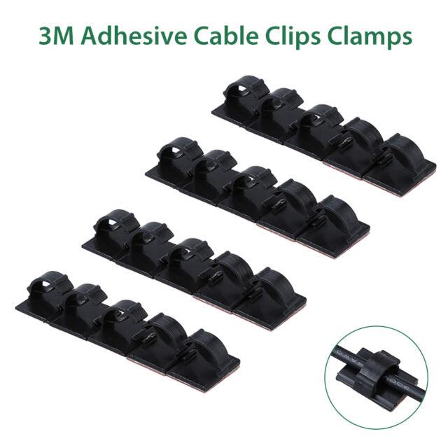 20pcs VIOFO A119s Car Dash Camera 3m Adhesive Wire Tie Cable Clip ...