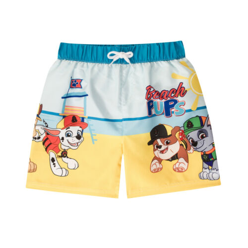 437419213ca92 PAW Patrol Rubble Chase Marshall Official Gift Boys Kids Swim Board Shorts