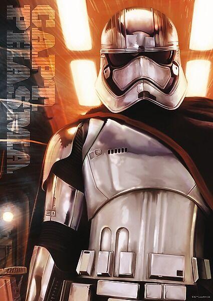 Puzzle Trefl 500 Teile - Star Wars - Imperial Trooper Captain Phasma - NEU 37237